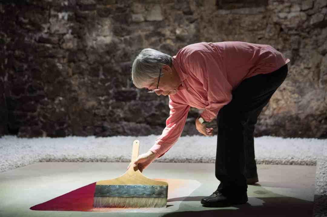 Lee Ufan, Castello di Ama per l'Arte Contemporanea, photo by Alessandro Moggi