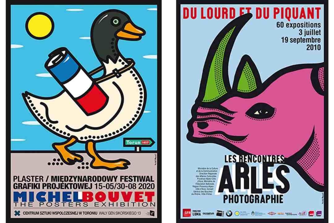 Posters courtesy: Michel Bouvet