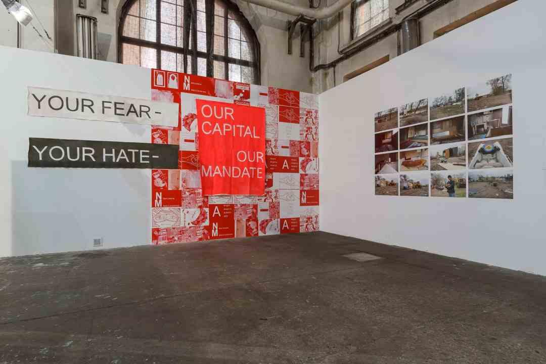 """Installation view, exhibition """"Fear"""" Arsenal Gallery power station, Bialystok, photo Maciej Zaniewski"""