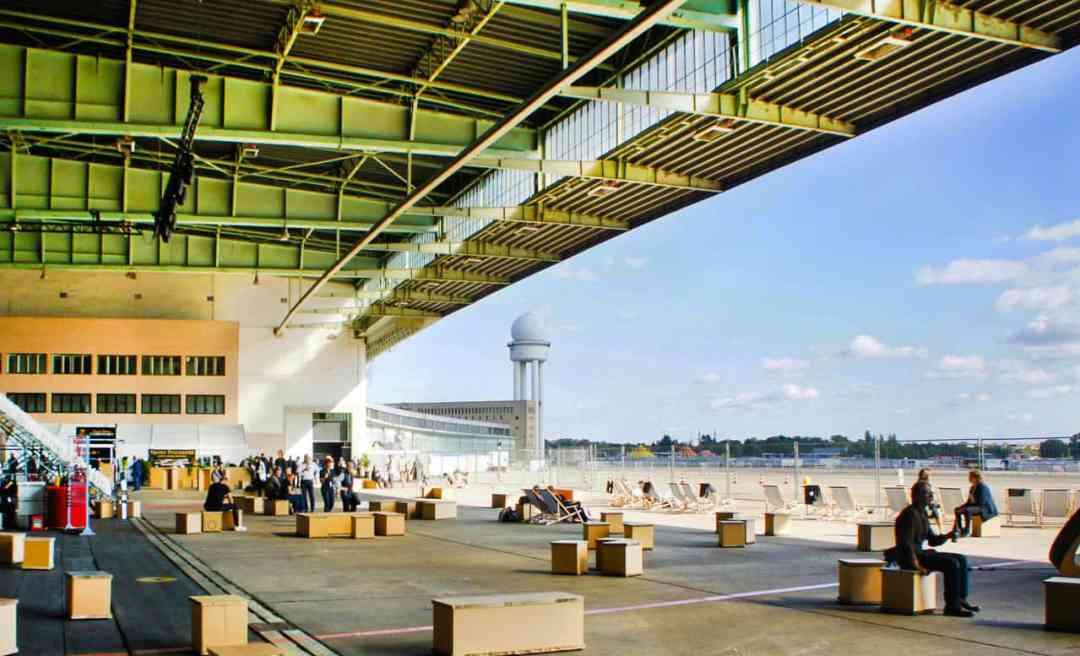 Positions Berlin Art Fair at Tempelhof Airport in Berlin, Copyright Positions Berlin Art Fair, Image Courtesy: Berlin Art Week 2020
