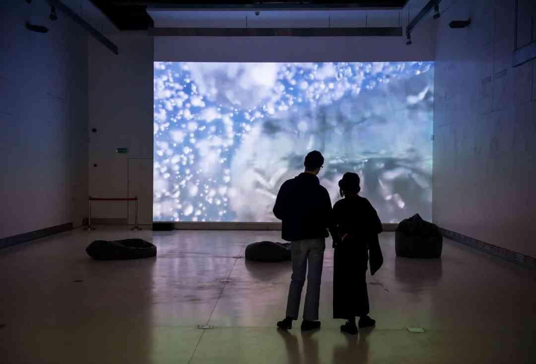 "Victoria Vesna, ""Noise Aquarium"", Gdansk's Lazna Centre for Contemporary Art, photo: Adam Bogdan"