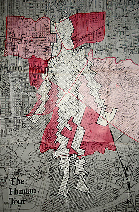 Michael Galbreth, The Human Tour: An Anthropomorphic Route Through The City of Houston, 1987