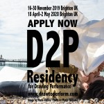 Opportunities: The Draw to Perform residency program for Drawing Performance practice (Copperdollar Studios, Brighton UK) Deadline – No deadline