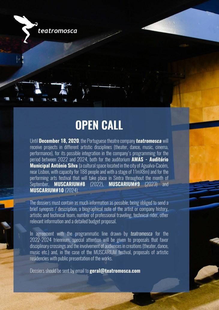 Open Call - teatromosca 2020 - ENG
