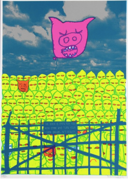 Pig Gate by DAN HOLIDAY
