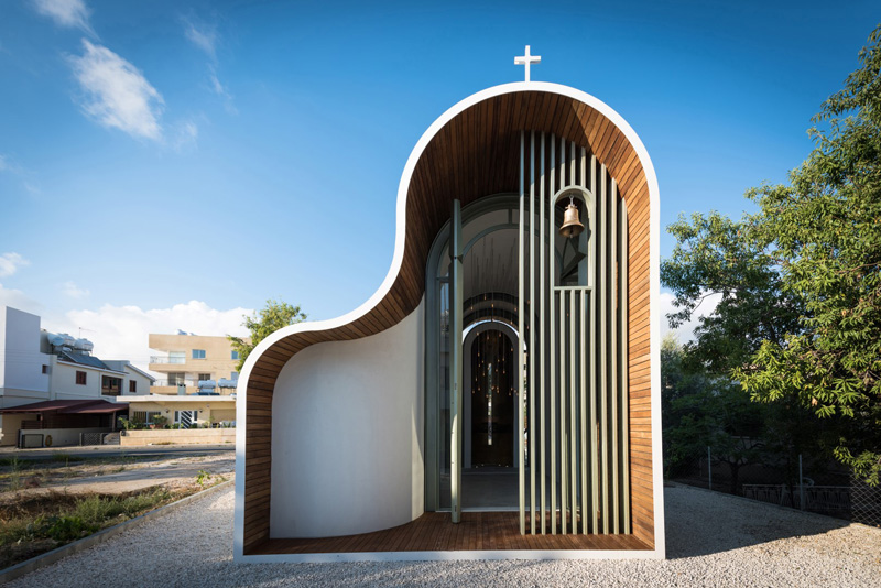 Michail Georgiou Designs A Small Chapel In Cyprus With A