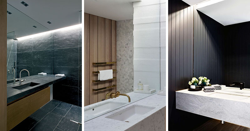 Bathroom Mirror Ideas - Fill The Whole Wall