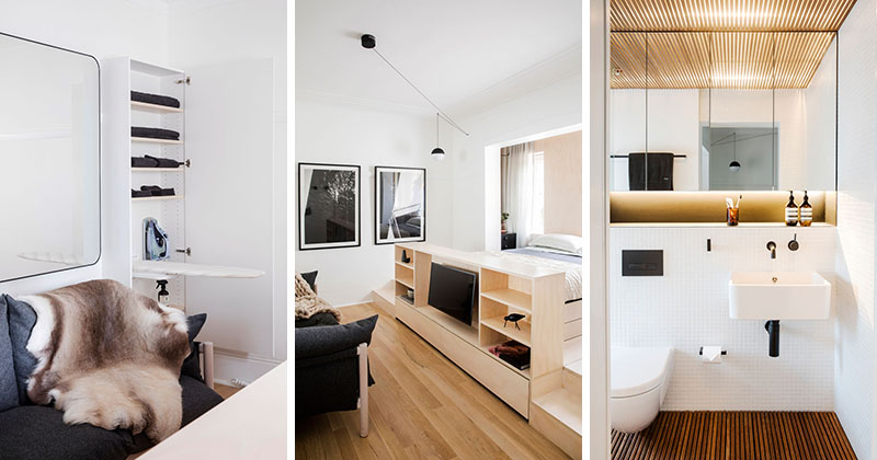 This Small Apartment Is Filled With Creative Storage