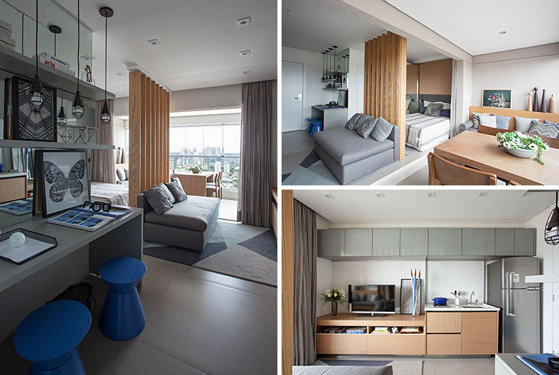 This Small Apartment Makes Efficient Use Of Limited Space