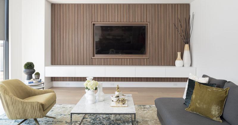 Living Room Wooden Tv Unit Design Novocom Top