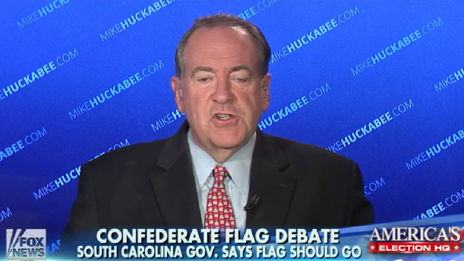 "Mike Huckabee On Fox News: ""When I Love God…I Don't Have A Problem With Racism. It's Solved!"""