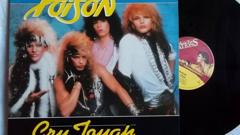 Contemptor's Late-Night Crappy '80s Hair Metal Video: Cry Tough By Poison