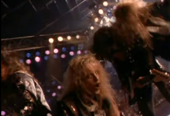 Contemptor's Late-Night Crappy '80s Hair Metal Video: Down Boys By Warrant