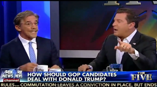 Geraldo Rivera Threatens To Knock Out His Fox News Colleague Over Immigration Debate