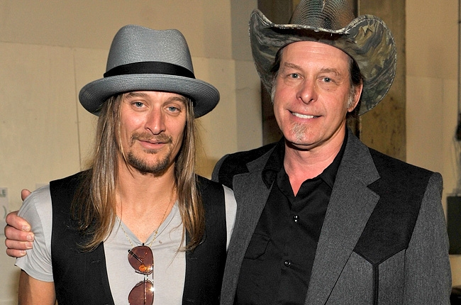 Southern Pride! Michigan-Born Rockers Kid Rock And Ted Nugent Defend Their Confederate Flags