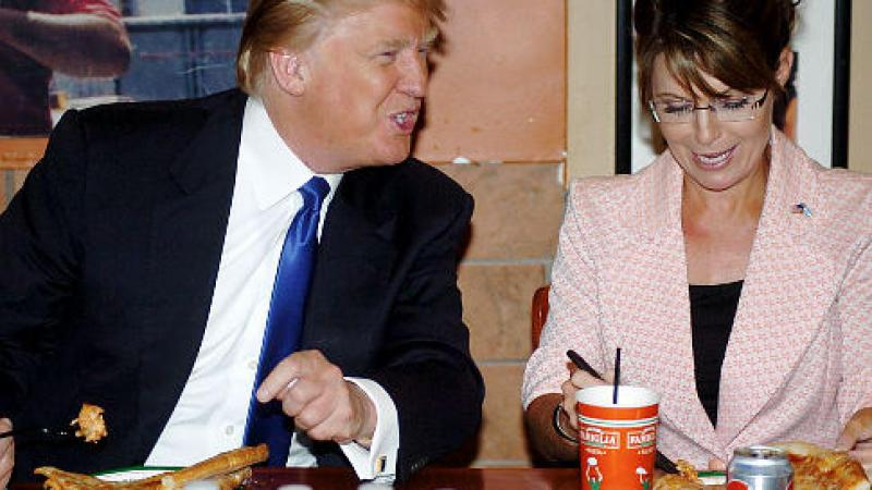 You Betcha! Donald Trump Says That He'd Love To Have Sarah Palin Be Part Of His Administration