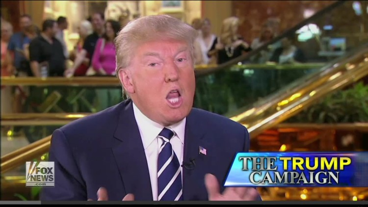 """Donald Trump Tells Sean Hannity That """"We Have To Go In With Force And Take The Oil"""" From Iran"""