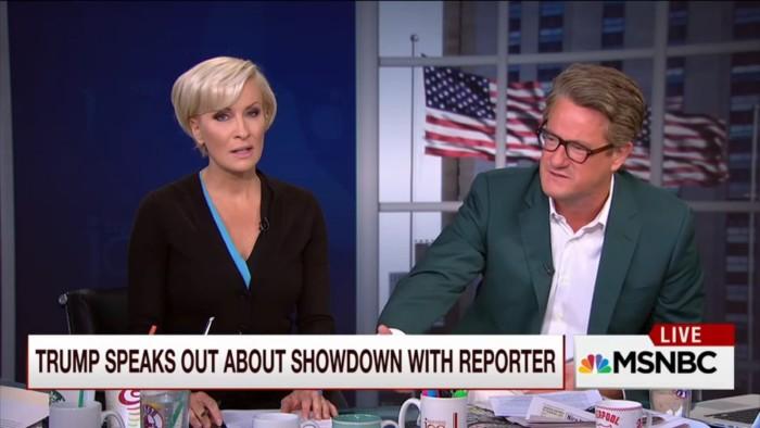 MSNBC's Mika Brzezinski Pretends Donald Trump Didn't Kick Jorge Ramos Out Of Press Conference
