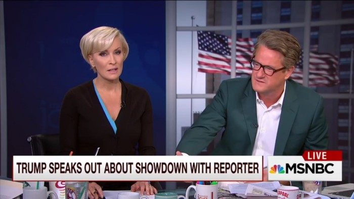 MSNBC's Mika Brzezinski Pretends Donald Trump Didn't Kick Jorge Ramos Out Of Press Conference