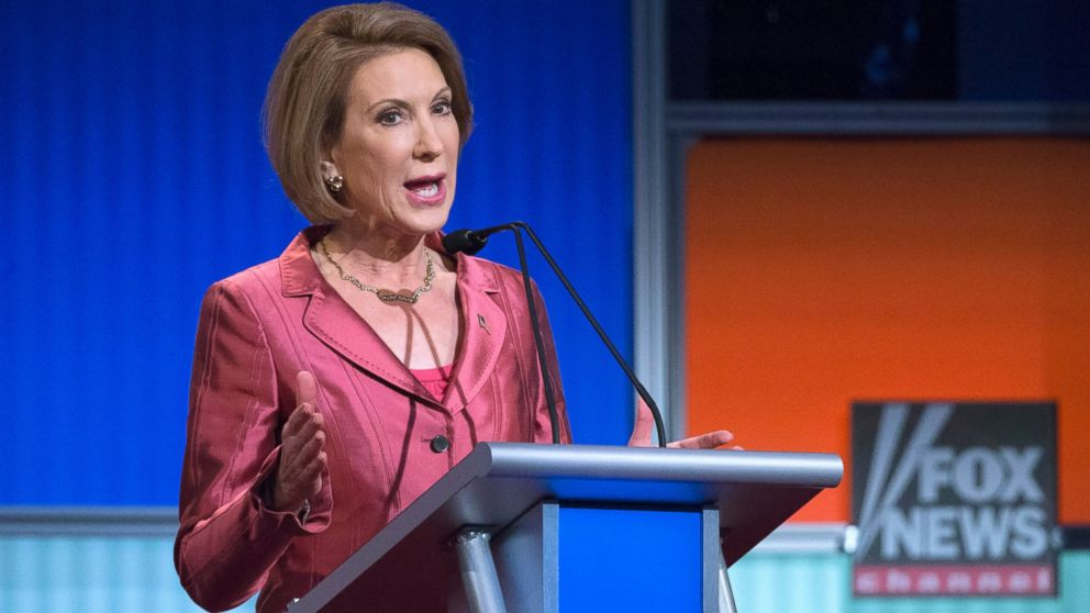 Hypocritical Carly Fiorina Complains That Hillary Clinton Is Playing The 'Gender Card'