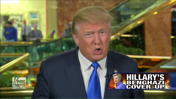 Donald Trump Wants Trey Gowdy To Continue To Use Benghazi Committee To Go After Hillary