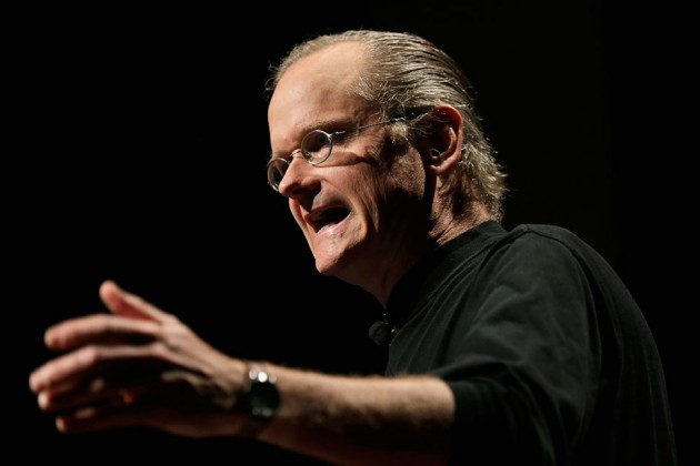 Lawrence Lessig Deserves A Podium In The Democratic Debates