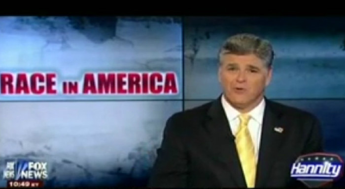 Sean Hannity Claims That The Black Lives Matter Movement Is Just Like The Ku Klux Klan