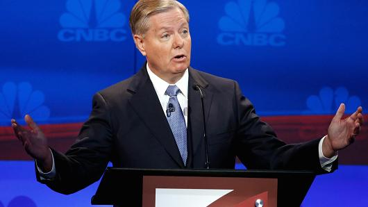 Lindsey Graham Invokes Veterans Day To Shame Fox For Cutting Him From Kiddie Table Debate
