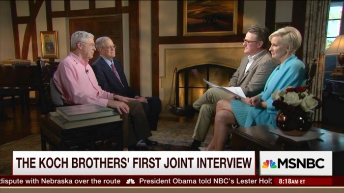 Yep, Morning Joe's Exclusive Koch Brothers Interview Was Just As Bad As You Thought It Would Be