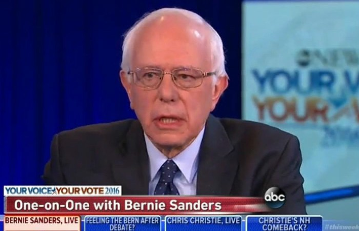 """Bernie Sanders On Donald Trump: """"I Think You Have A Pathological Liar There"""""""