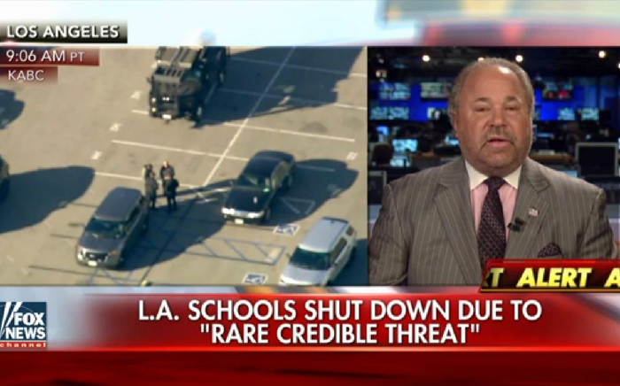 Fox's Bo Dietl: All Immigration Needs To Stop Because Of A Likely Hoax Bomb Threat In LA
