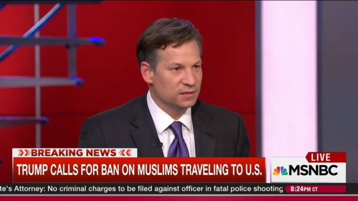 "NBC News Reporter Explains That Trump's Muslim Ban ""Feeds Into The ISIS Narrative"""
