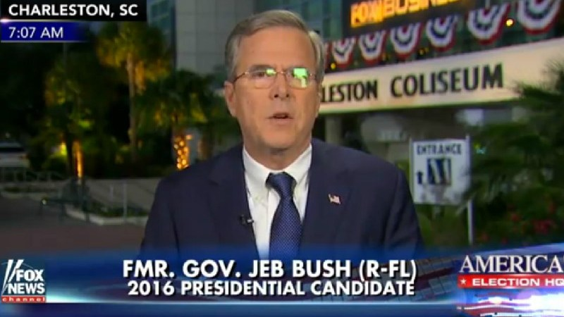 "Jeb! Desperately Panders To Fox News Viewers: ""I Only Get My News From Fox & Friends"""
