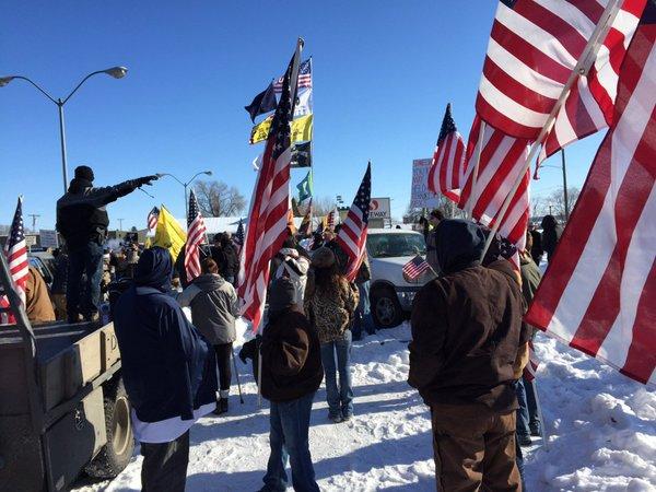 MSNBC Completely Ignores News Involving Armed Militia Standoff In Oregon