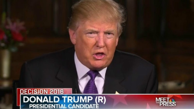 """Donald Trump Finally Starts Making Sense: """"I Really Don't Even Know What I Mean"""""""