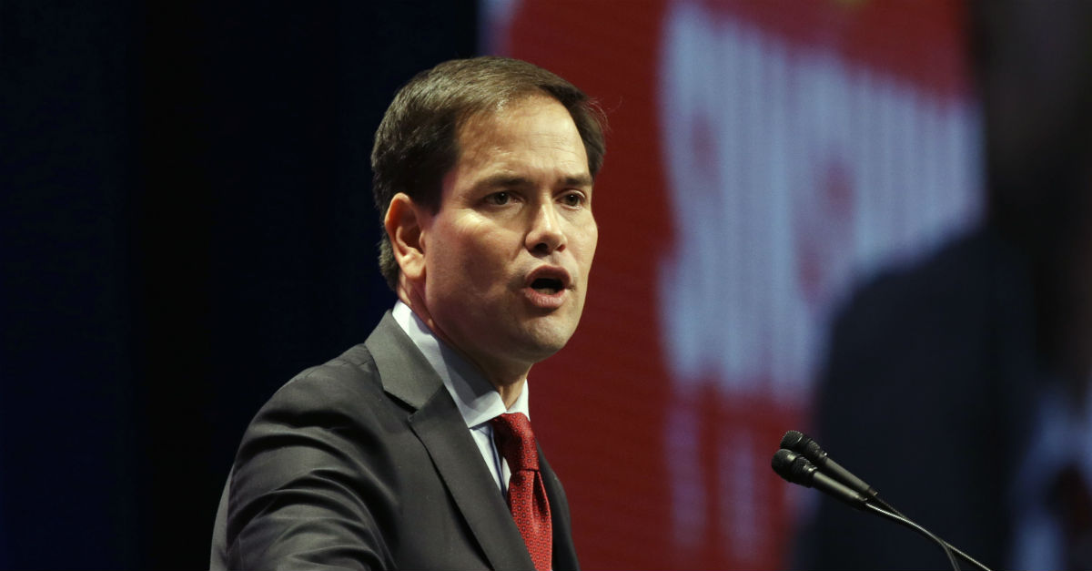 Marco Rubio Defends Anti-Muslim Bigotry By Equating It To A Sports Rivalry