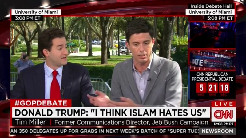 Little Trump Bro Gets Called Out For Needing A Booster Seat During CNN Appearance