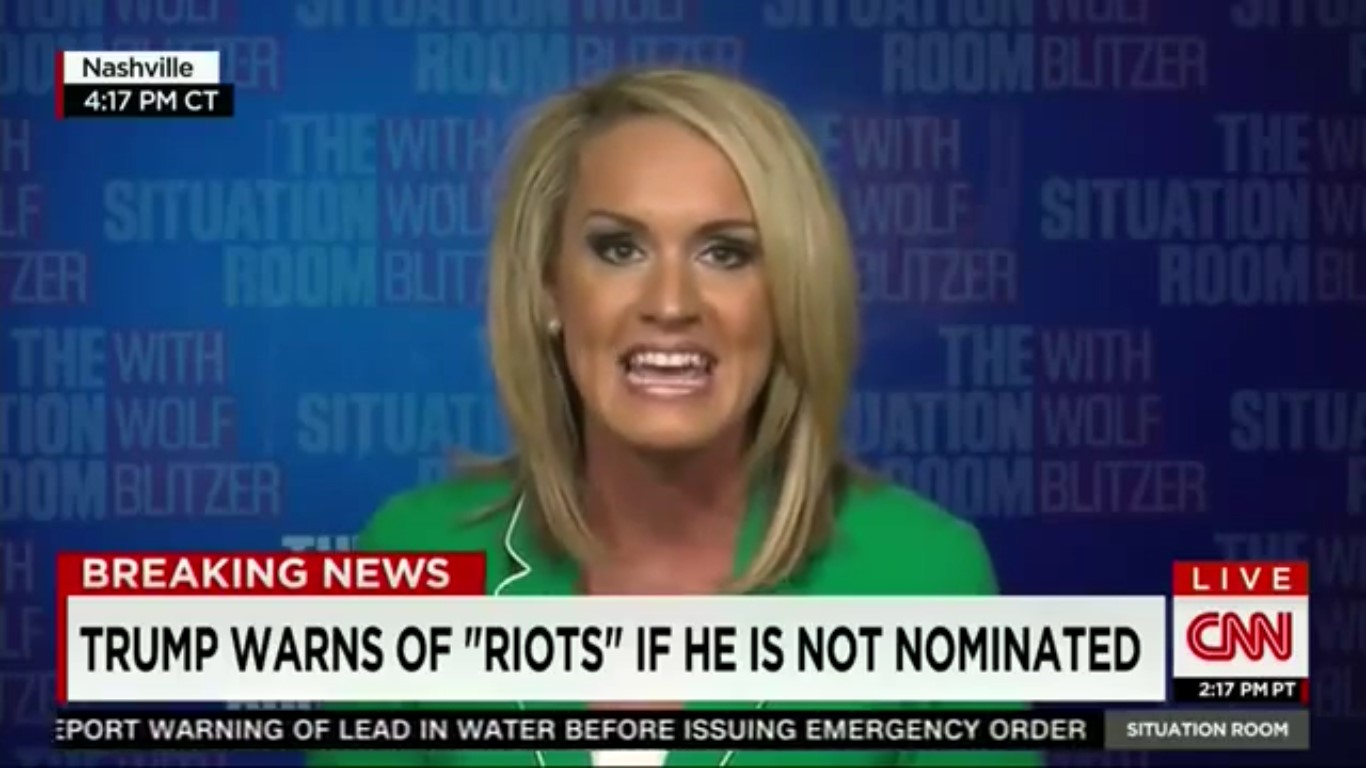 "Donald Trump Superfan Tells CNN That ""Riots Aren't Necessarily A Bad Thing"""