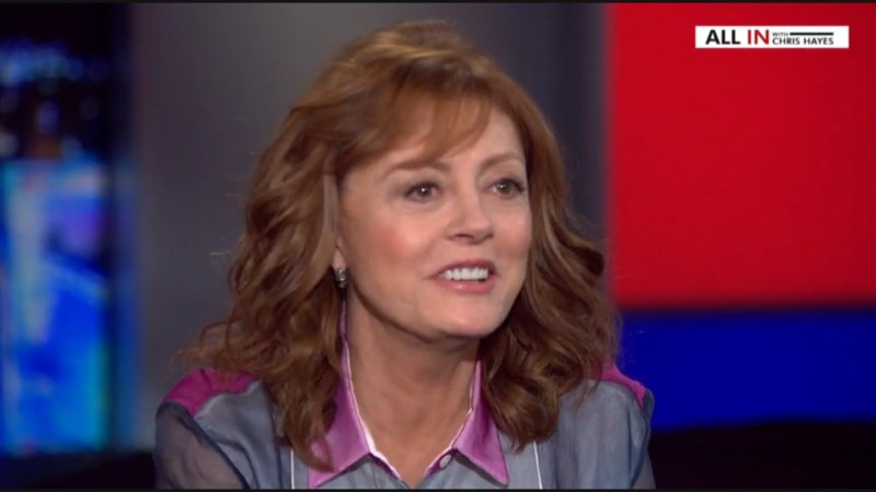 """Susan Sarandon: """"Some People Feel Donald Trump Will Bring The Revolution Immediately"""""""