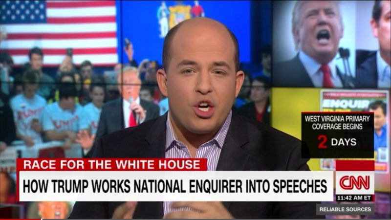 CNN's Brian Stelter: Media Needs To Address Trump's Embrace Of Conspiracy Theories Head On