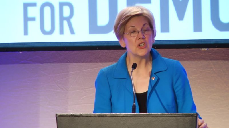 """Elizabeth Warren: Trump's A """"Small, Insecure Moneygrubber Who Doesn't Care Who Gets Hurt"""""""