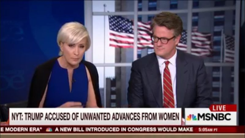 'Morning Joe' Defends Trump's Mistreatment Of Women, Labels Him A Feminist