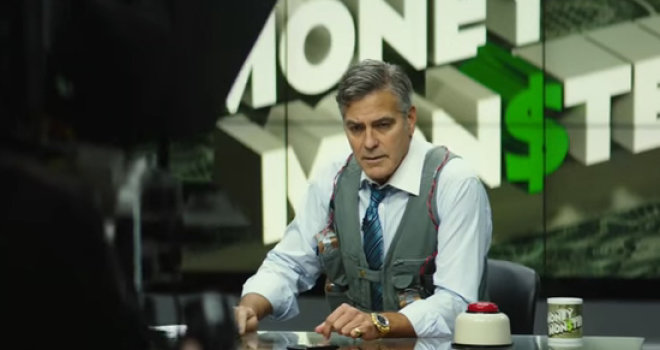 Strong Performances, Taut Direction And Surprisingly Dark Humor Power 'Money Monster'