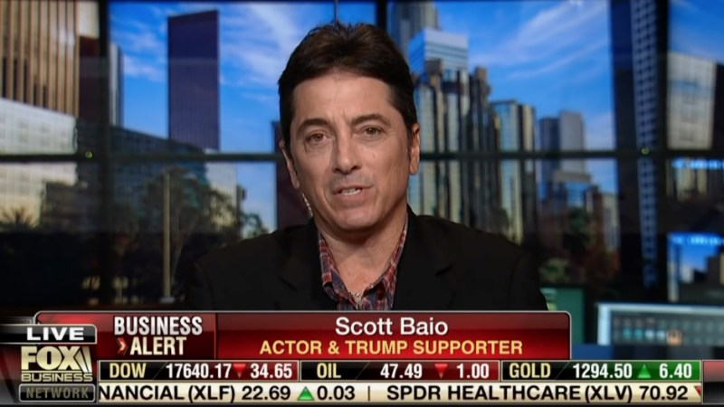 Feel The Star Power As Scott Baio Will Be Speaking At The Republican Convention