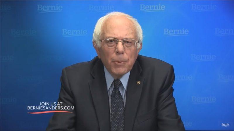 Bernie, Bro, Just Stop