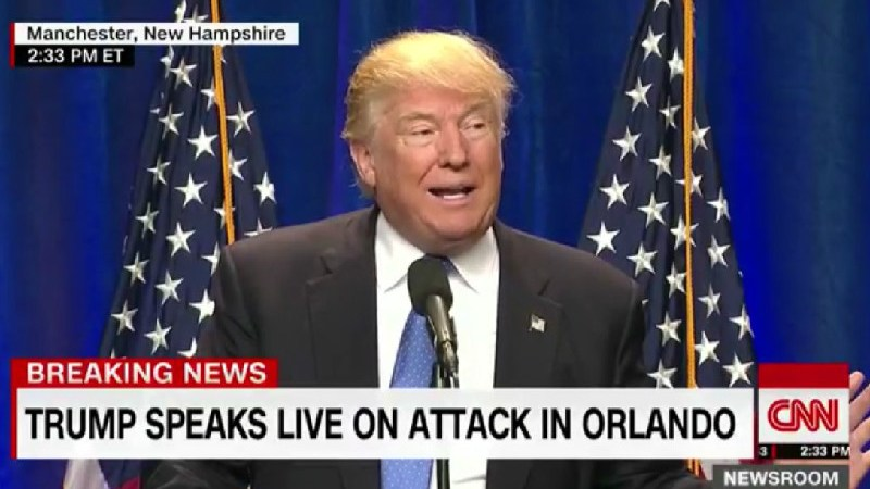 """Trump Claims American-Born Orlando Shooter Is From """"Afghan,"""" Which Isn't A Country"""