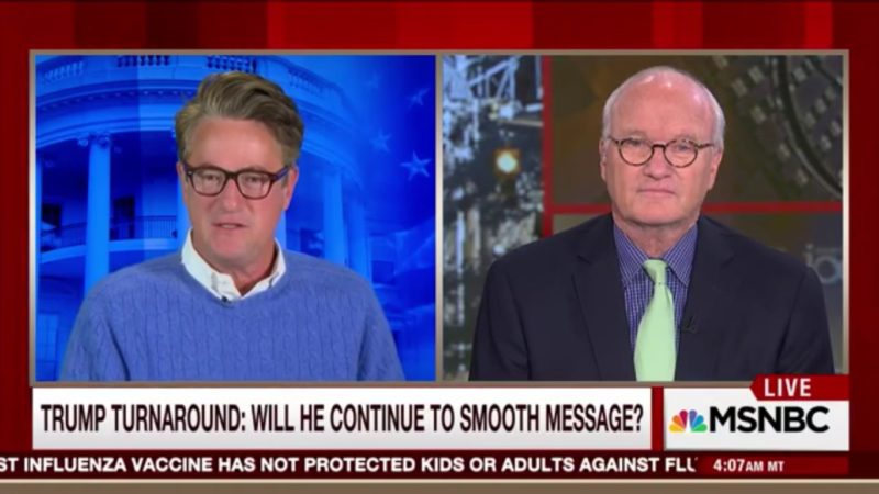 It Took One Crappy Teleprompter Speech For Joe Scarborough To Get Back On The Trump Train