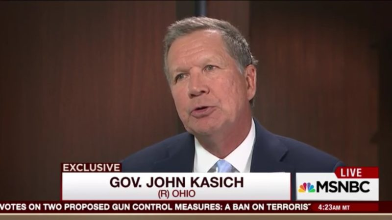 John Kasich Almost, Sorta, Kinda Says That He Will Not Support Donald Trump