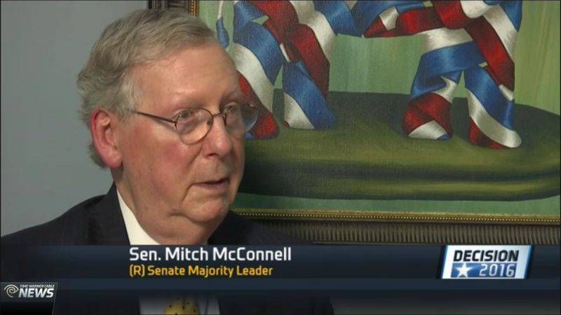 "Mitch McConnell, Who Endorsed Donald Trump, Says He Isn't A ""Credible Candidate"""