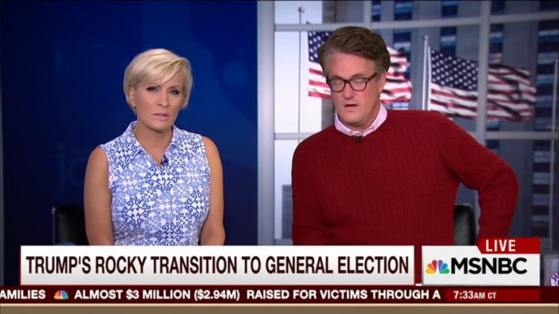 """Morning Joe: """"Trump's Preaching To The Choir, And The Choir's Getting Smaller"""""""